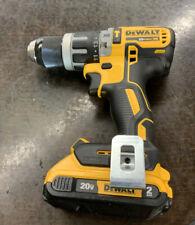 "Dewalt DCD796 20 V MAX XR Brushless Compact 1/2"" Hammer Drill W/ Batt"