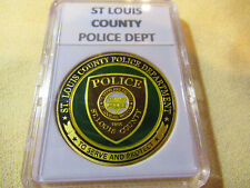ST LOUIS COUNTY POLICE Challenge Coin