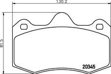 MINTEX Vordere Hintere Bremsbelagsatz mdb3278 - BRANDNEU - 5 Jahre Garantie