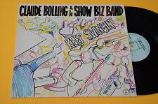 CLAUDE BOLLING & LE SPECTACLE BIZ BAND LP KEEP SWINGIN TOP JAZZ ORIG FRANCE 1978