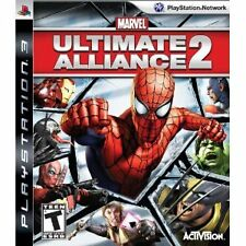Marvel: Ultimate Alliance 2 PlayStation 3 PS3