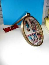 """Vintage Wall Mounted 6"""" Mirror, Extension Arm 7-1/2"""""""