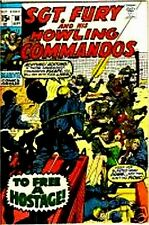 SGT FURY 80 D SERGEANT & HIS HOWLING COMMANDOS 1963 MARVEL NICK AGENT OF SHIELD