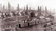 Baltimore & Ohio Railroad B&O Versailles PA gas wells