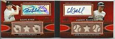 2010 Topps Sterling RALPH KINER ANDREW McCUTCHEN Dual Auto Relic Booklet #02/10
