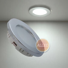 12V Recessed LED Cabin Down Light Ceiling Roof Caravan Marine Truck Boat Lamp