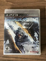 Metal Gear Rising: Revengeance Sony PlayStation 3 PS3 Brand New Factory Sealed