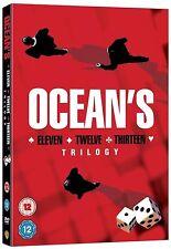 OCEANS Trilogy Complete Movie Collection DVD Set ELEVEN TWELVE THIRTEEN 11 12 13