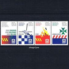2010 - Australia - Emergency Services - se-tennant strip of 4 - MNH