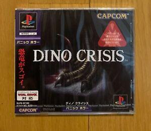 Dino Crisis Sony Playstation New! Sealed PS1 Japan Capcom