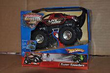 Hot Wheels Monster Jam 1:43 Live Wire Die-Cast Vehicle