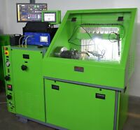 Common Rail Injector & Pump Test Bench with Injector coding, Digital Flow-meters