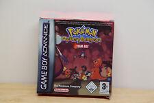 Pokémon Mystery Dungeon: Team Rot (Nintendo Game Boy Advance, 2006) Sehr GUT OVP