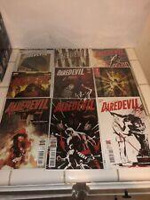 DAREDEVIL Lot Of 9 Comics