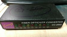 CC-2002 Canary Fiber Optic UTP/ST Converter