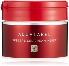 NEW Shiseido Aqualabel Special Gel Cream Collagen All-in-one 90g import Japan
