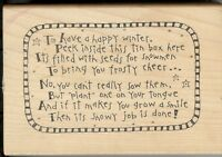 Inky Antics Rubber Stamps P4-2894-K Bring You frosty Cheer S21