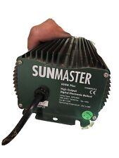 SUNMASTER 600W Digital Ballast - Dimmable Indoor Garden Hydroponics