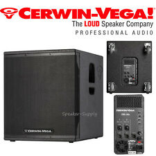 "Cerwin Vega CVX-18S 18"" 2000 Watt Powered Subwoofer Speaker DJ Pro LIve PA New"