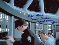 "RALPH MORSE  ""Imperial Comms Officer"" STAR WARS: EMPIRE SIGNED 8x10 PHOTO ~COA"