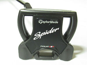 """Used LH Taylormade Spider Tour Black 35"""" Putter"""