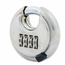 4 digits combination strong disc lock padlock with hardened steel no key