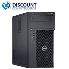 Dell Precision T1700 Computer Tower Core i7 3.4GHz 16GB 2TB HD Windows 10 Pro PC