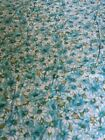 Vintage+Flannel+Backed+Vinyl+Tablecloth+52+X+68+Retro++Flower+Power+Blue+Daisy