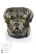 Dogue de Bordeaux, dog head urn made of Resin, ArtDog, Ca