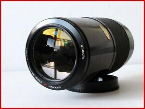 "Minolta Maxxum 'BEERCAN' 70-210MM F/4 AF LENS for SONY A-mount AF-TESTED ""#600"