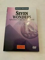 2008 Ancient Mysteries Seven Wonders Splendors of the Ancient World DVD