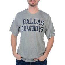 New Nike Dallas Cowboys NFL Football Dri-Fit t-shirt men XXL Gray Legend Coaches
