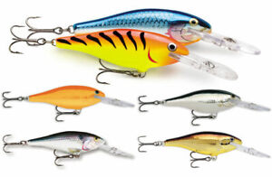 Rapala Shad Rap // SR05 // 5cm 6g Fishing Lures (Various Colors)