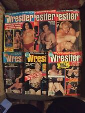 6 Issues Of The Wrestler 2/79,4/79,5/79,8/79,3/80,5/80 Andre,Bruno,Race,Flair