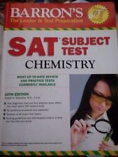 Barron's SAT Subject Test Chemistry 10th Edition by Joseph A. Mascetta