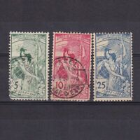 SWITZERLAND 1900, Sc# 98-100, CV $36, MH/Used