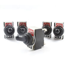 5x Waterproof Cover Toggle Switch ( On / Off ) Double Pole 20 AMP DPST 12v / 24v