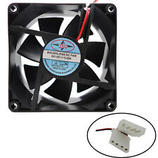 1pcs 80X80X25MM 12V 4Pin DC Brushless PC Computer Case Cooling Fan 1800PRM