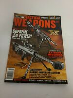 Barrett Tactical Weapons Magazine 2007 Annual - Cover Supreme .50 Power EUC