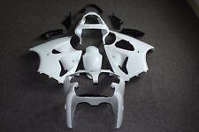 Unpainted ABS Drilled Bodywork Fairing for Kawasaki ZX6R 636 00-02 ZZR600 05-08