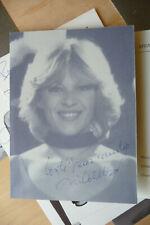 programme  dedicacé Nicoletta fete du travail  1988