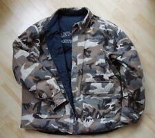 Harley Davidson Jacke XL Wendejacke Schwarz Camouflage Winter Men