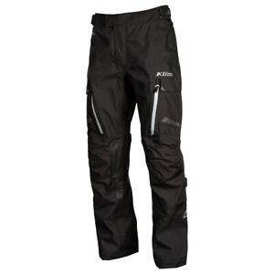 KLIM Sample Carlsbad Adventure Motorcycle Pants - Men's 34 - Stealth Black