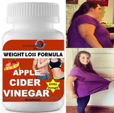 Premium Apple Cider Vinegar Pills 1000 mg High Potency Fast Acting! 100% Pure #1