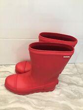 Womens Sorel Joan Short Waterproof Rain Rubber Fashion Duck Boots - Red SZ 6