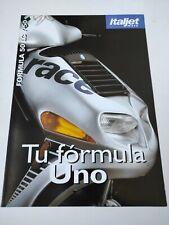 Prospectus Catalogue Brochure Moto Italjet Formula 50 LC 1998 Espana