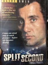 Split Second region 1 DVD (1999 Clive Owen drama tv movie) rare