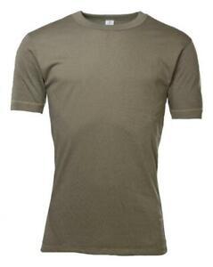1er-5er Pack Original Bundeswehr Unterhemd T-Shirt BW Shirt Feldhemd Oliv Army