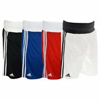 Adidas Boxing Shorts XXS - XXL Blue Red Black White Base Lightweight Climalite