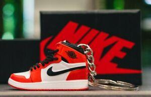 "Portachiavi-Keychain Nike-Jordan ""3D"" con Scatola with Box"